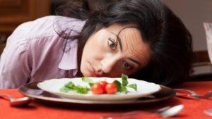 Стихийная диета у подростка