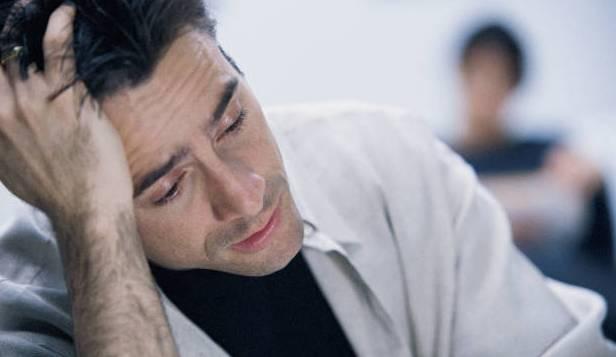 Утомлённый человек