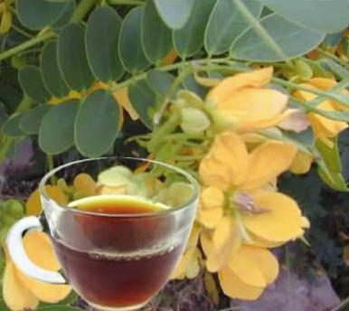 Напиток из сенны