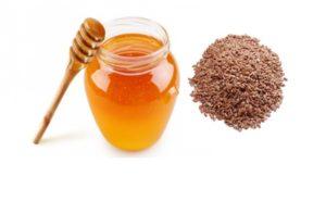 Льняное семя и мёд