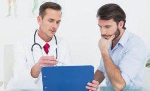 Диалог пациента с врачом