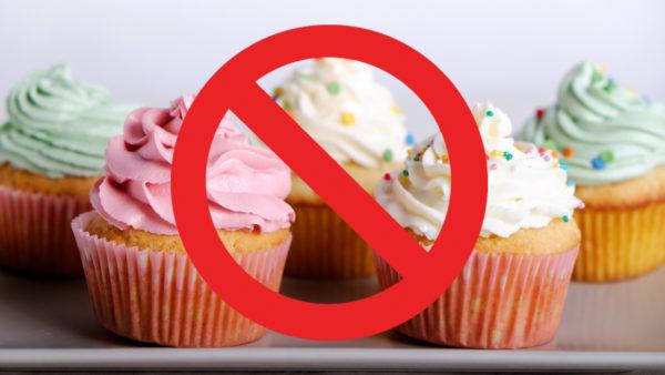 Запрет на кондитерские изделия