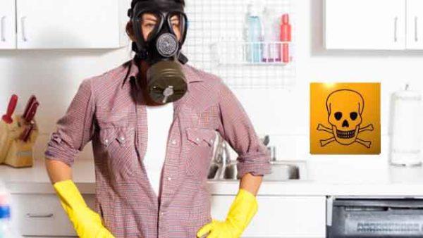 Аллергия на бытовую химию
