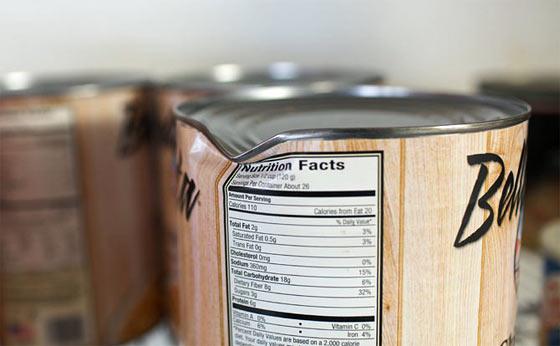 Некачественные консервы