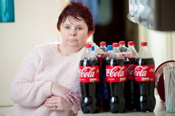 Человек и Кока Кола