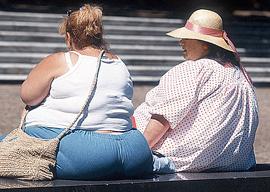 Люди с избыточным весом
