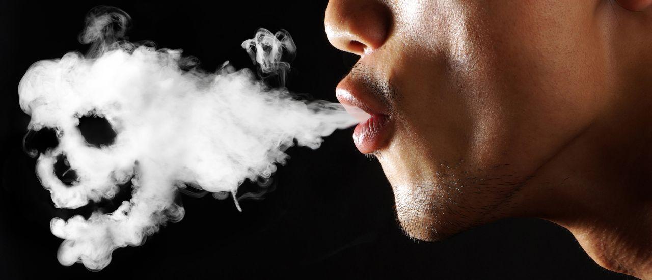 Табачный дым вреден