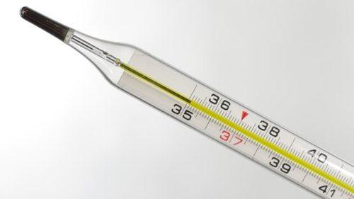 Ртутный градусник