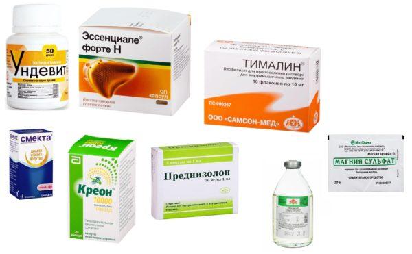 Препараты от гепатита А