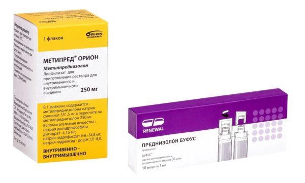 Лекарственные глюкокортикоиды