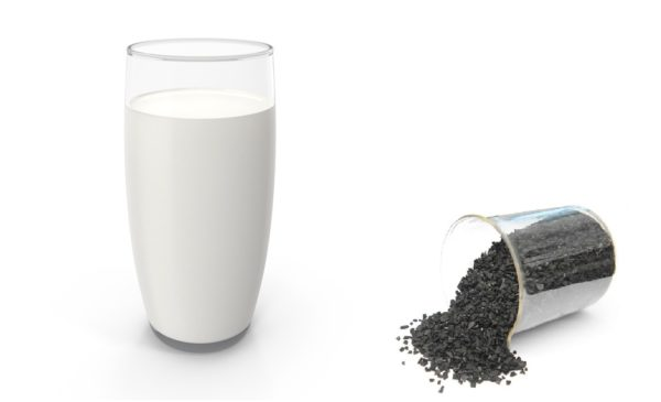 Молоко с углём от гепатита