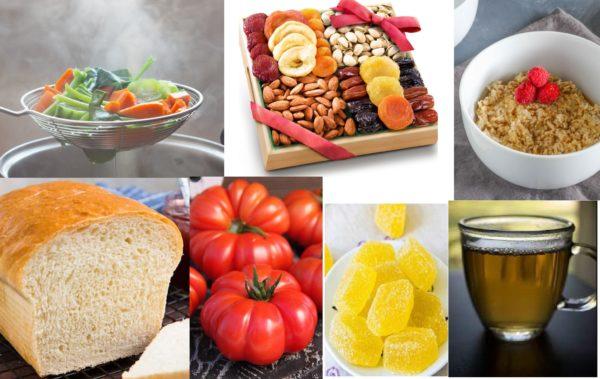 Полезные продукты с углеводами